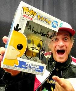 Jason Paige Autographed Psyduck Funko Pop