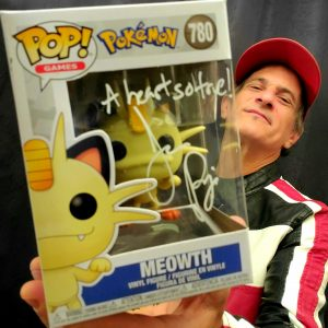 Jason Paige Autographed Meowth Funko Pop